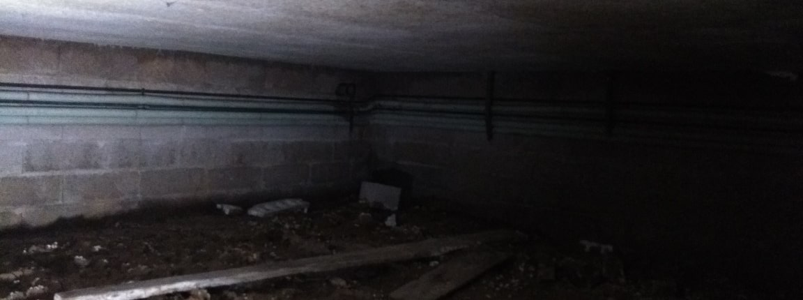 Isolation vide sanitaire